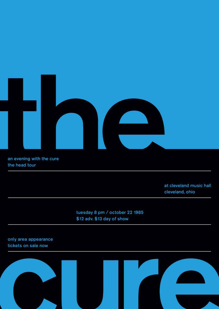 瑞士现代主义风格海报设计