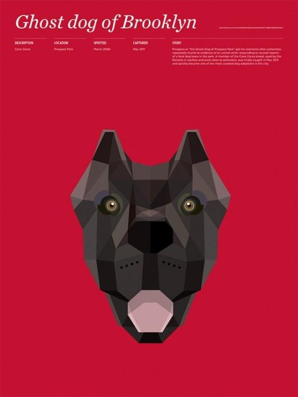 Thomas Wilder  多边形动物海报