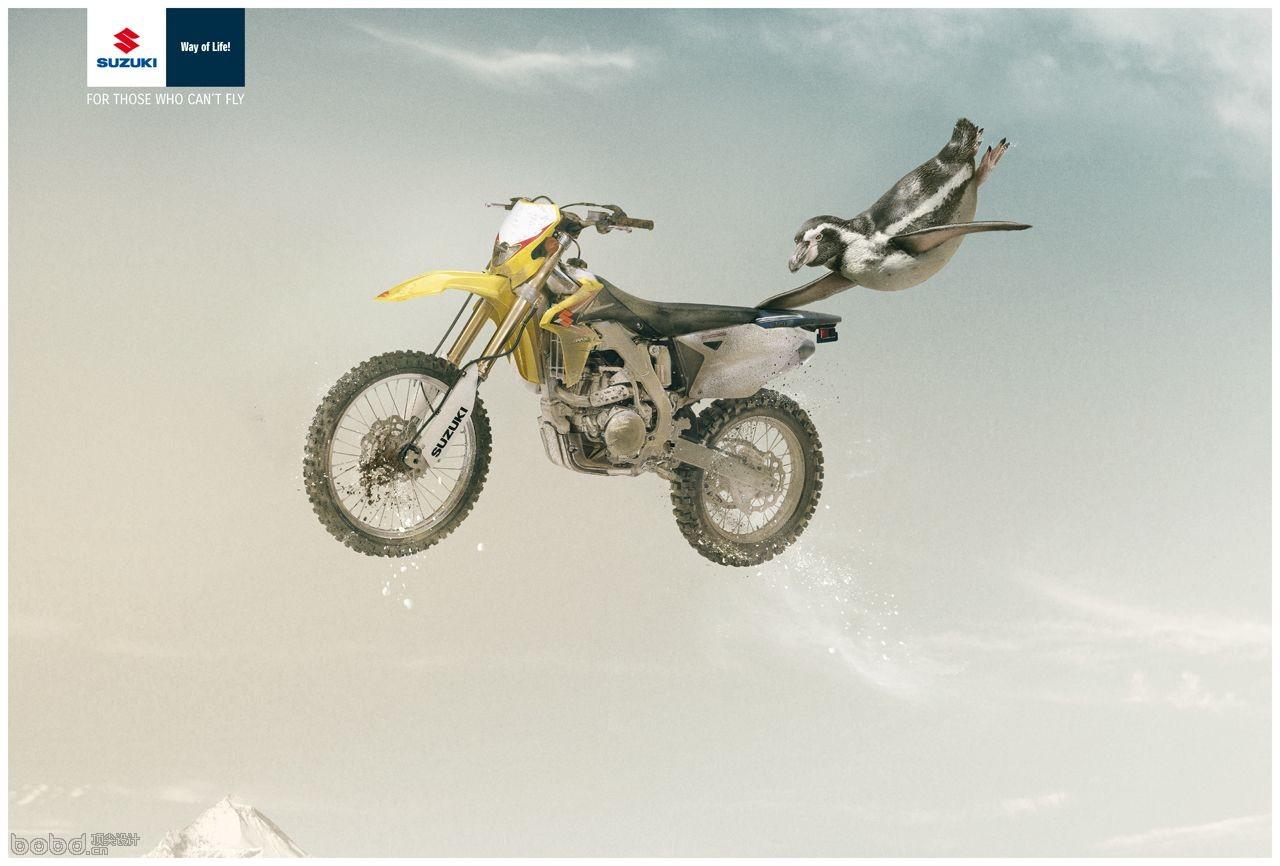 为那些不会飞的人准备.(企鹅篇)铃木越野摩托车-2