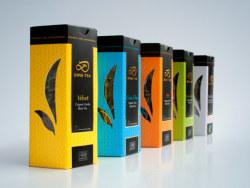 DINA TEA茶叶包装