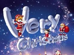 圣诞海报制作