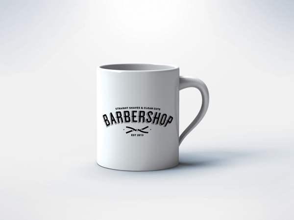 barbershop理发店视觉形象设计欣赏