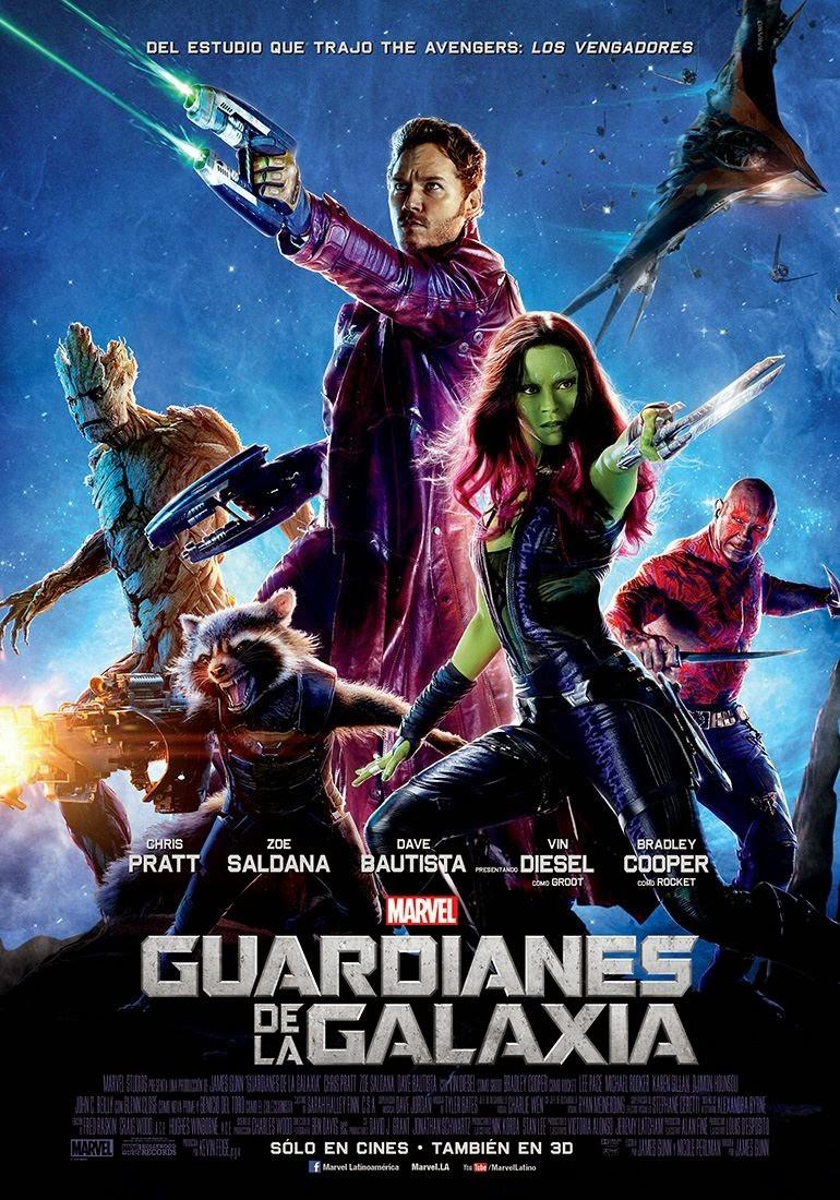 电影海报欣赏:银河护卫队(guardians of the galaxy)