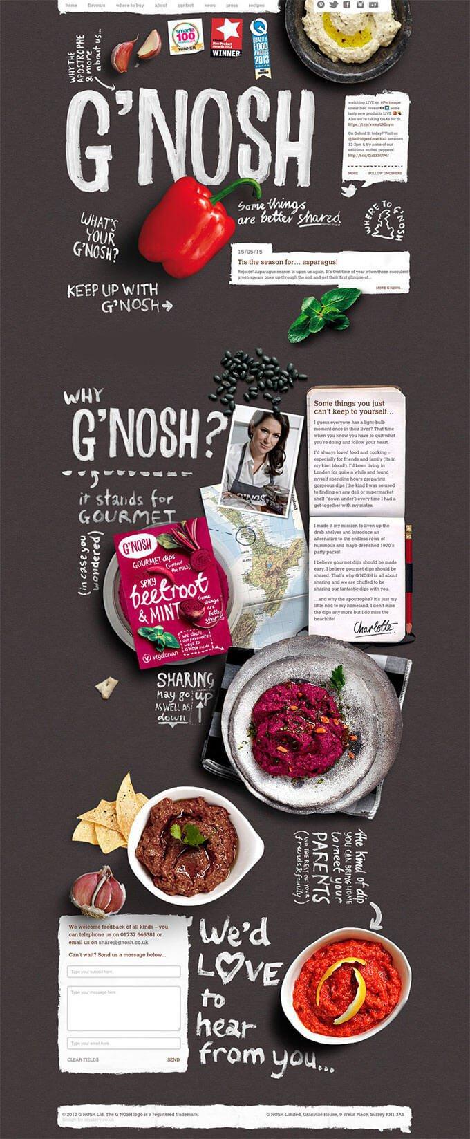 50个创意食品平面设计作品