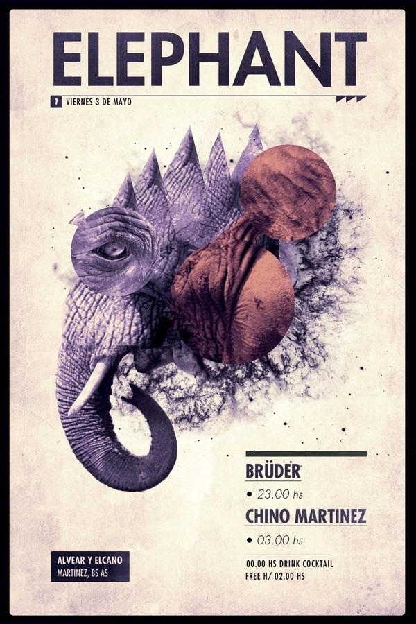 30款国外创意海报传单设计(flyer design)(2)图片
