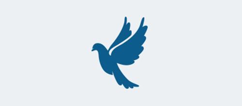 标志设计元素运用实例:鸽子