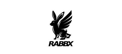 标志设计元素运用实例:兔子(二)