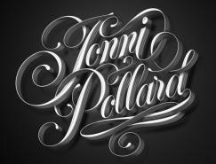 Luke Lucas炫酷字体设计欣赏