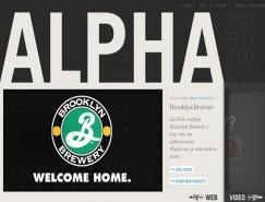 国外使用大字体设计的网站欣赏