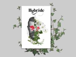 Hybride漂亮的杂志设计