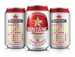 Bintang啤酒70周年纪念版包装设计