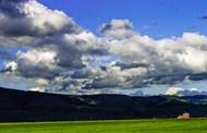 俄勒冈牧场草原图片