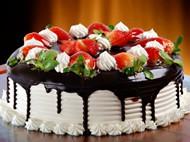 奶油草莓蛋糕圖片
