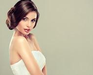俏皮新娘發型圖片