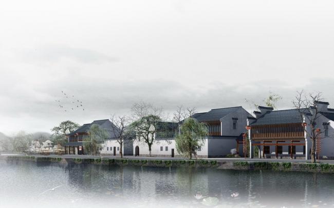 古风江南风景图片