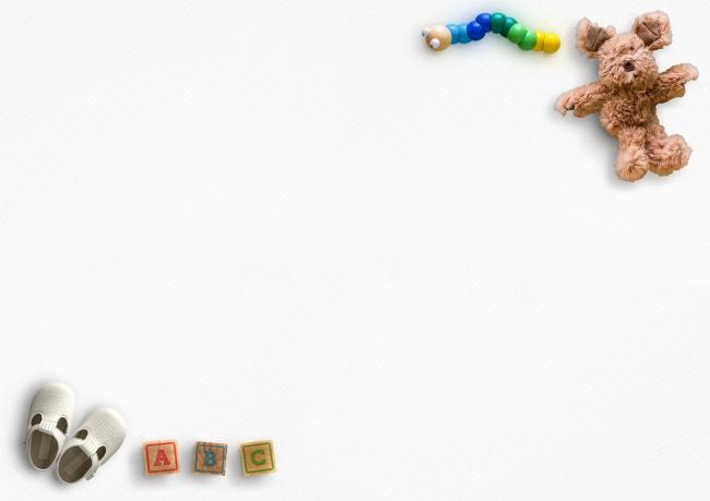泰迪熊课件背景图片-素彩图片大全