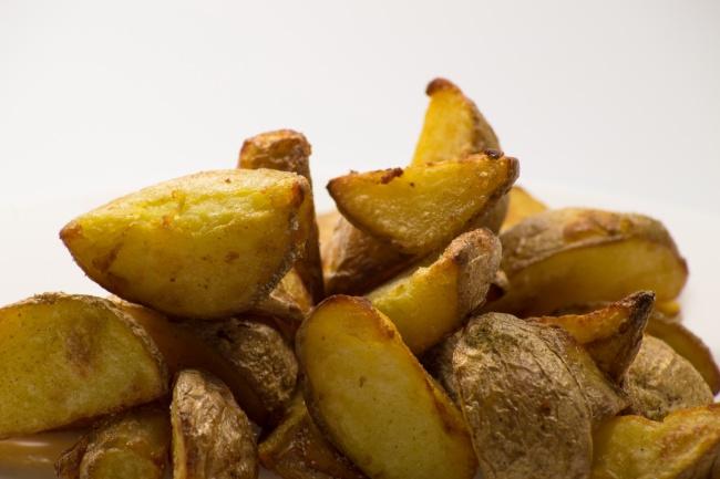 炸土豆块图片-素彩图片大全图片