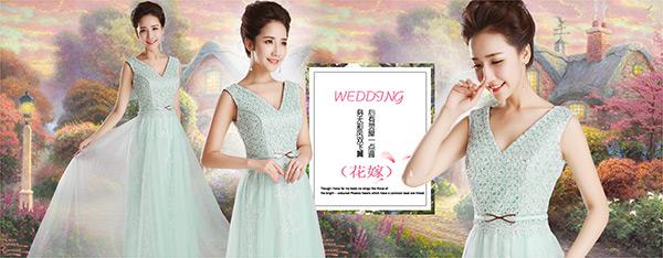 婚纱礼服店铺psd图片-广告设计psd素材-psd素材-素彩