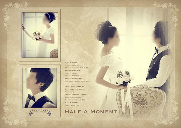 韩式婚纱相册PSD图片