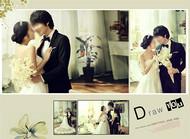 简约唯美婚纱相册PSD图片