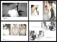 婚紗相冊模板PSD圖片