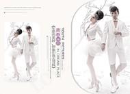 婚纱写真古装相册PSD图片