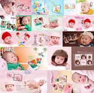 兒童攝影相冊PSD圖片