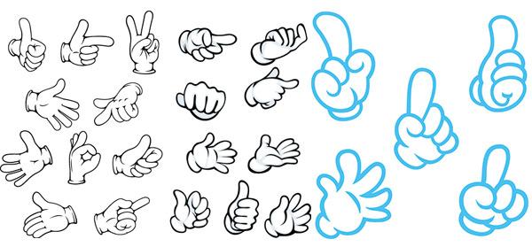 拳头,顶呱呱,点赞,手,手指,手掌,手势,卡通手势,手插画,其他人物,人物