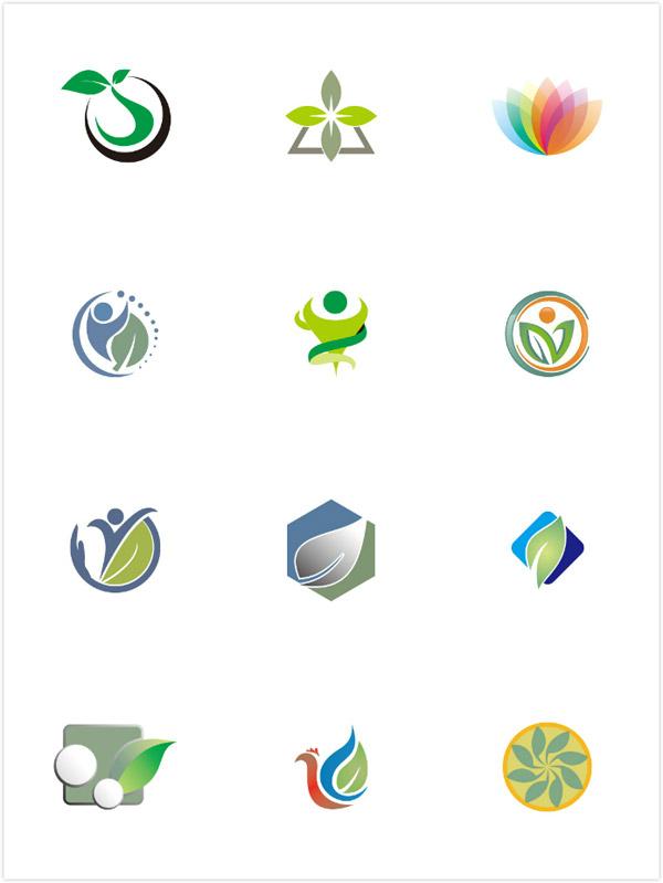 生态环保logo矢量图片-矢量标志素材-矢量素材-素彩网