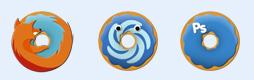 甜甜圈軟件圖標
