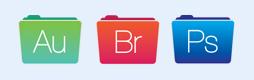 Adobe文件夹图标