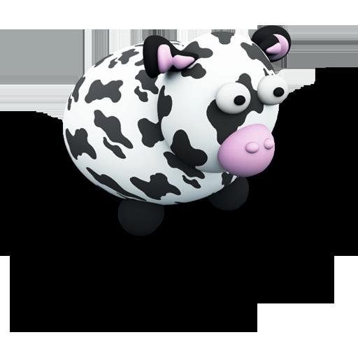 可爱动物图标-动植物-png素材-素彩图标大全