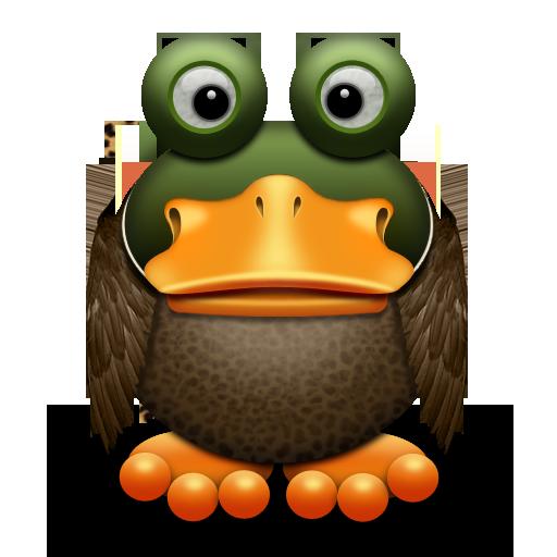 可爱青蛙系列图标-动植物-png素材-素彩图标大全