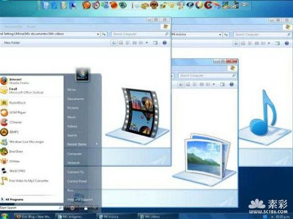 Tema Windows 7 para XP