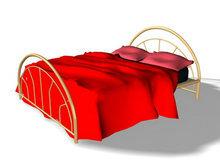 3D床模型3