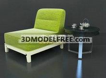 绿色时尚小床1款