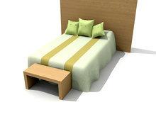 简洁大方可爱婴儿床