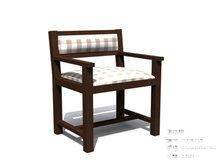 古典宽大椅子