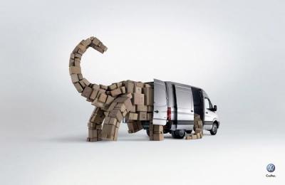 大众(Crafter)客货车广告创意欣赏