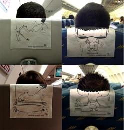 飞机上的创意酒店广告设计欣赏