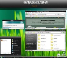 carboncure v0.01 theme for xp