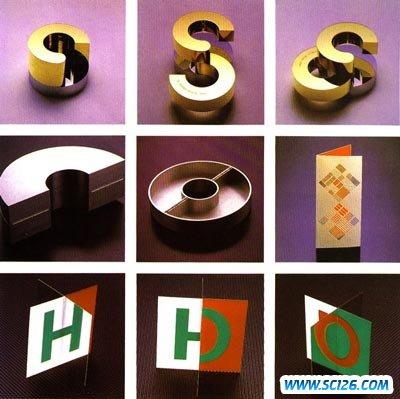 日本著名字体设计系列