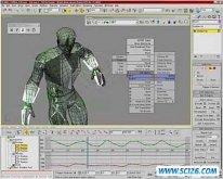 最强三维设计软件3D Studio MAX 7发布