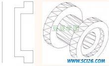 AutoCAD 2007 入门教程-绘制旋转网格