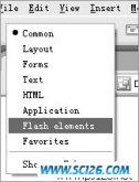 用Dreamweaver MX 2004的Flash动画元素