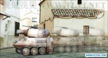 3ds max 2011多边形建模实战(6)坦克履带动画