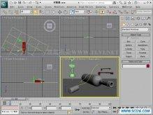 使用3ds Max2011中的Path Deform修改器辅助建模