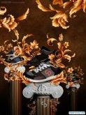 ps打造古典风格的运动鞋海报