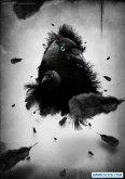ps打造一幅黑白的乌鸦插画