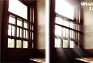 ps为窗户照片加上柔和的透射光线